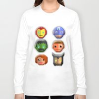 avenger Long Sleeve T-shirts featuring The Avenger Pixel by Aulia-pyon