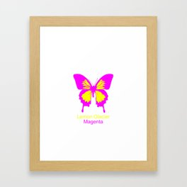 Ulysses Butterfly 5 Framed Art Print