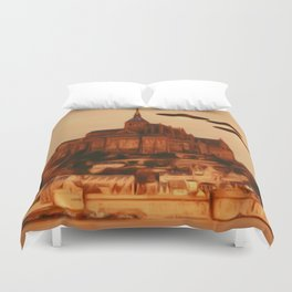 UFO Invasion Duvet Cover