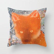 Foxxx Throw Pillow