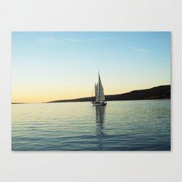 New York Skies Canvas Print