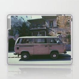 Van in spring Laptop & iPad Skin