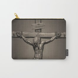 Jesus Crucifixion - For All of Us Carry-All Pouch