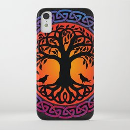 Viking Yggdrasil World Tree iPhone Case