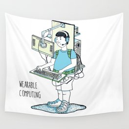 Wearable Computing Wall Tapestry