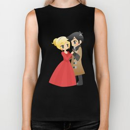 OUAT - Captain Swan Formal Biker Tank