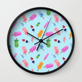 Popsicle Party Wall Clock