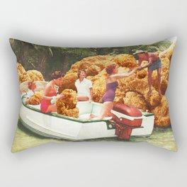Fried chicken drive-thru Rectangular Pillow