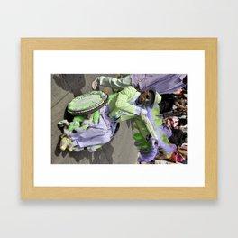 Cat Daddy - New Orleans, Louisiana Framed Art Print