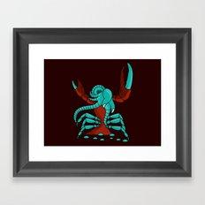 Crabonster Framed Art Print