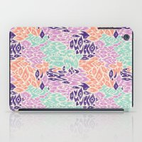 leopard iPad Cases featuring Leopard by moniquilla
