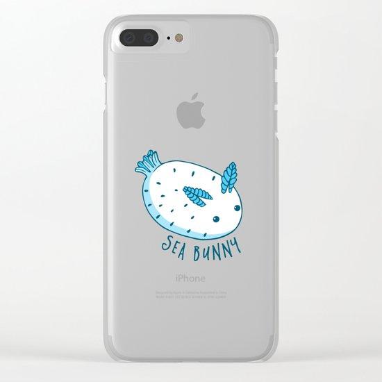 Sea Bunnies Clear iPhone Case