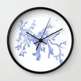 Purple Sea Dragon Wall Clock