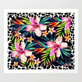 tropical wild 2 Art Print