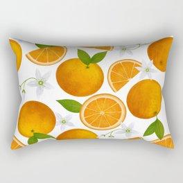 Spring Oranges Rectangular Pillow