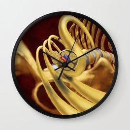 Spinal Nerves Wall Clock