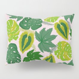 Greens and Leaves Pillow Sham