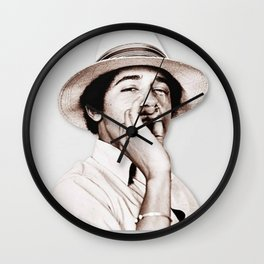 Barack Obama Smoking weed Wall Clock