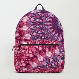 Pink and violet mandala Backpack