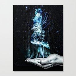 Hologram of 2020 Canvas Print