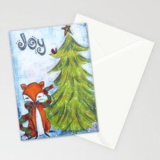 Joyful Fox Stationery Cards