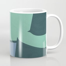 Color and Shape - Cliffs of Moher Coffee Mug