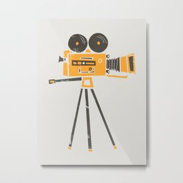 Cine Camera Metal Print