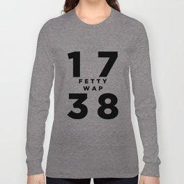 1738 Fetty Wap Long Sleeve T-shirt