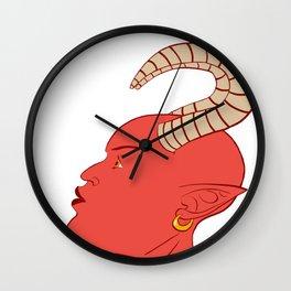 Beautifully Demonic Wall Clock