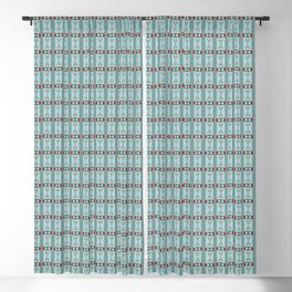 Skulls & Spiders Halloween (Pattern) Blackout Curtain