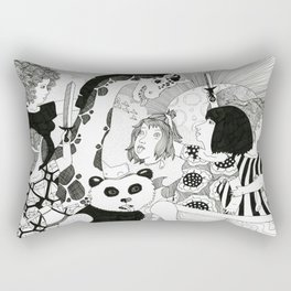 Welcoming Party Rectangular Pillow