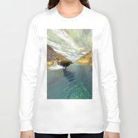 dolphins Long Sleeve T-shirts featuring Dolphins by nicky2342