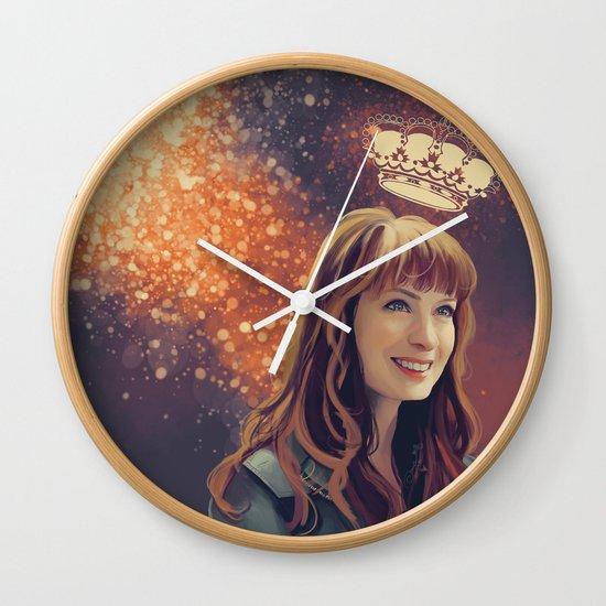 charlie Bardbury - Supernatural Wall Clock