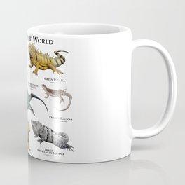 Iguanas of the World Coffee Mug