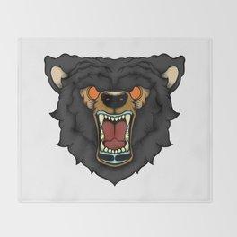 Traditional Bear Throw Blanket