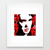 heathers Framed Art Prints featuring Veronica Sawyer Interrupted by Terrestre