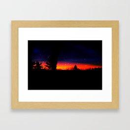 Sun Rise Framed Art Print