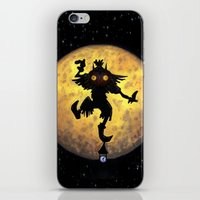 majora iPhone & iPod Skins featuring majora mask by neutrone