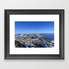 Maggies Peak Framed Art Print