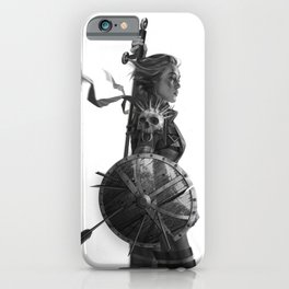 Warrior 6 iPhone Case