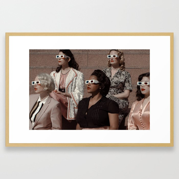 Stereoscopic 2 Framed Art Print