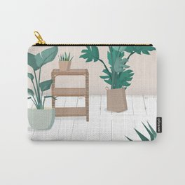 A house with plants is a home Carry-All Pouch