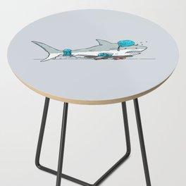 The Shark Skater Side Table