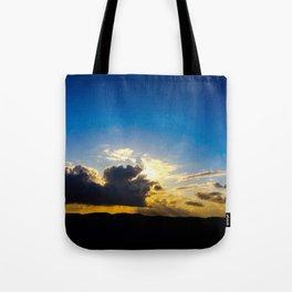 Twin Flame Cloud Lovers Tote Bag