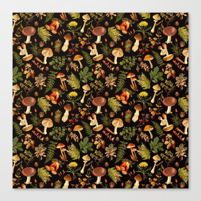 Vintage & Shabby Chic - Autumn Harvest Black Leinwanddruck