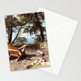 Front Row Seats at the Lake Stationery Cards