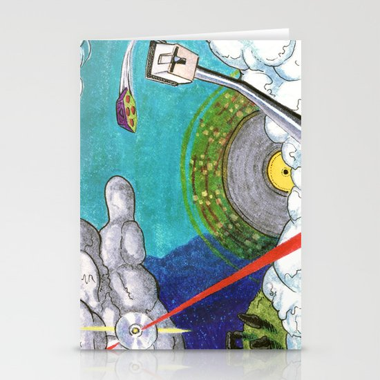 Music on the Horizon by Cap Blackard Stationery Cards