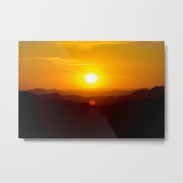 Arizona Sunset Metal Print