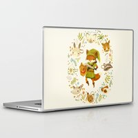 games Laptop & iPad Skins featuring The Legend of Zelda: Mammal's Mask by Teagan White