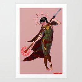 dalish pariah  Art Print
